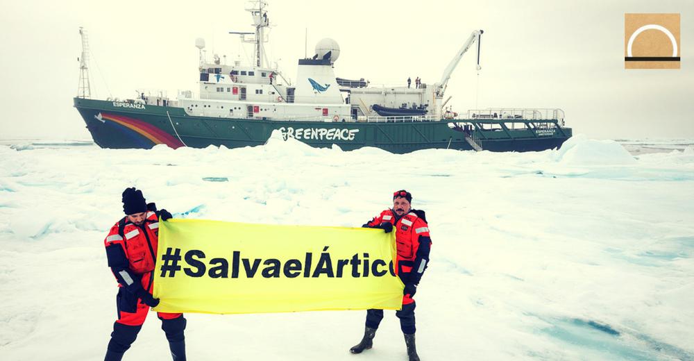 Las primeras imágenes de Greenpeace en el océano Antártico