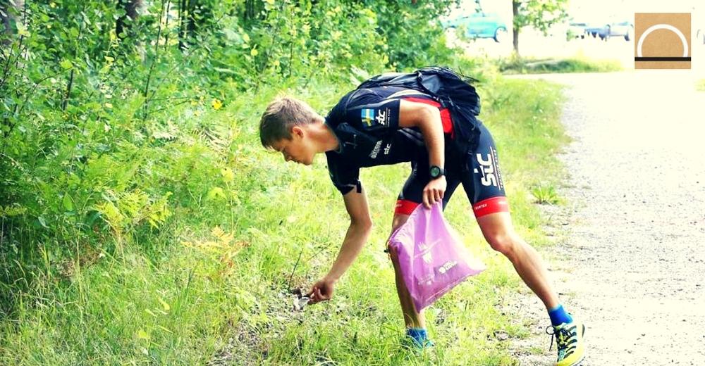 Plogging: el fitness ambientalista que viene de Suecia