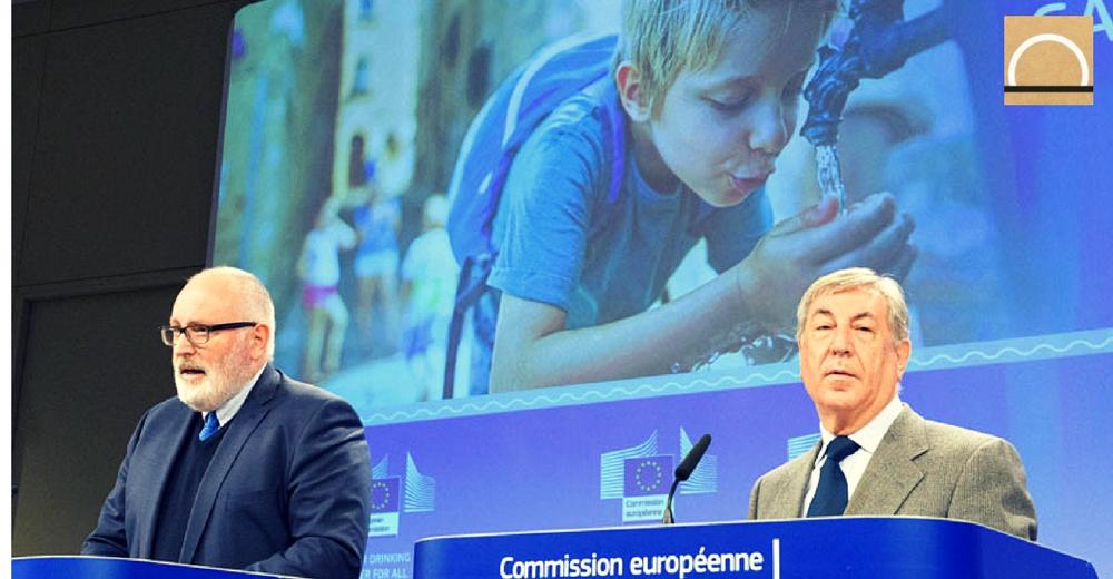 La UE promoverá la calidad y el acceso al agua potable