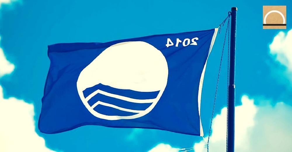 Bandera azul en las playas de México