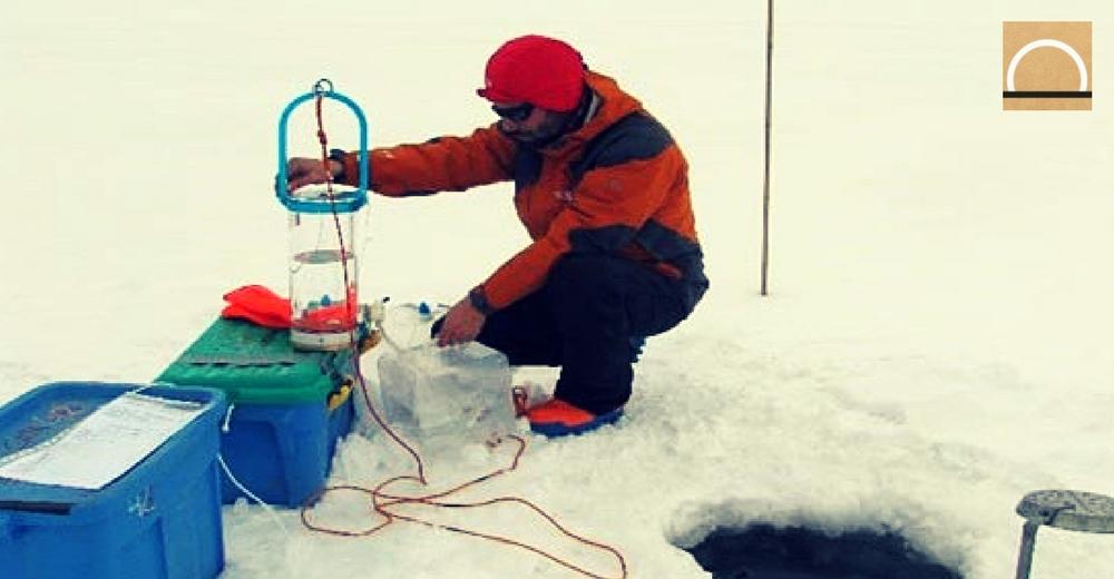 Estudian los microorganismos en la Antártida durante la expedición MicroAirPolar