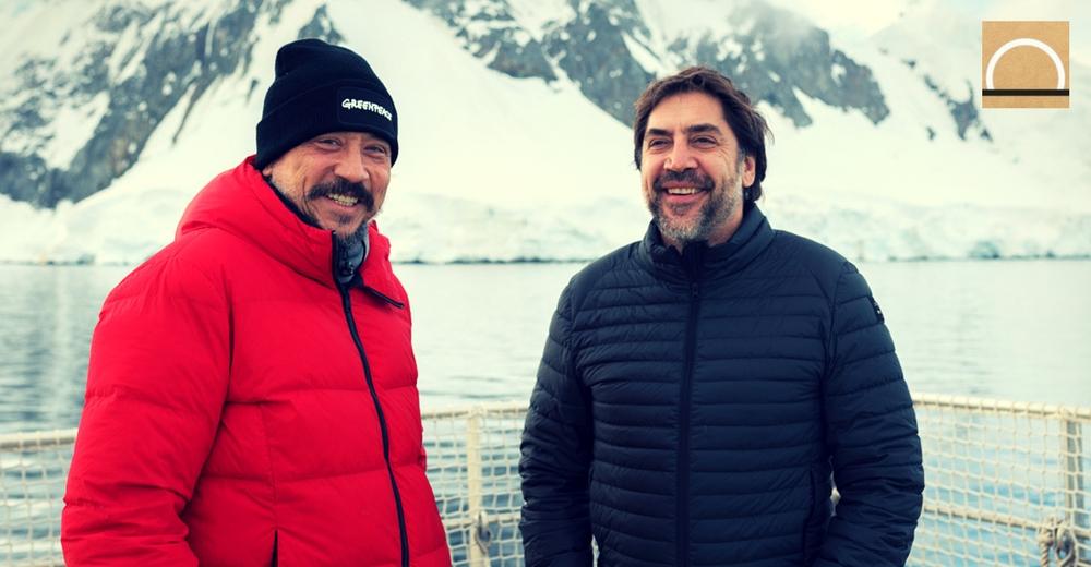 Greenpeace y Bardem presentan los primeros resultados de la expedición en el océano Antártico