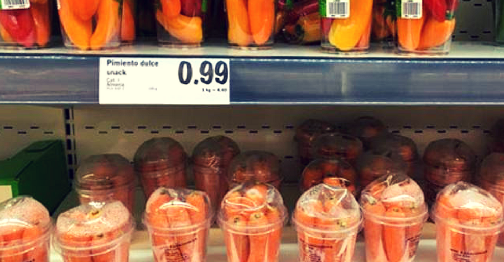 #Desnudalafruta, la campaña contra el plástico en los productos frescos