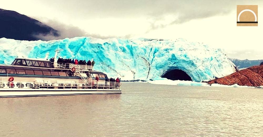 Se derrumba el arco del glaciar Perito Moreno en Argentina