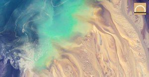 Concentraciones de metano y dióxido de carbono en la superficie del mar