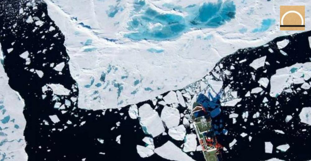 Se disparan los niveles de contaminación por microplásticos en el Ártico