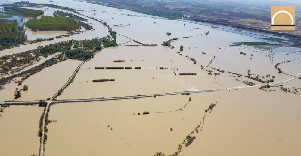 Las cifras de los daños de la crecida del Ebro