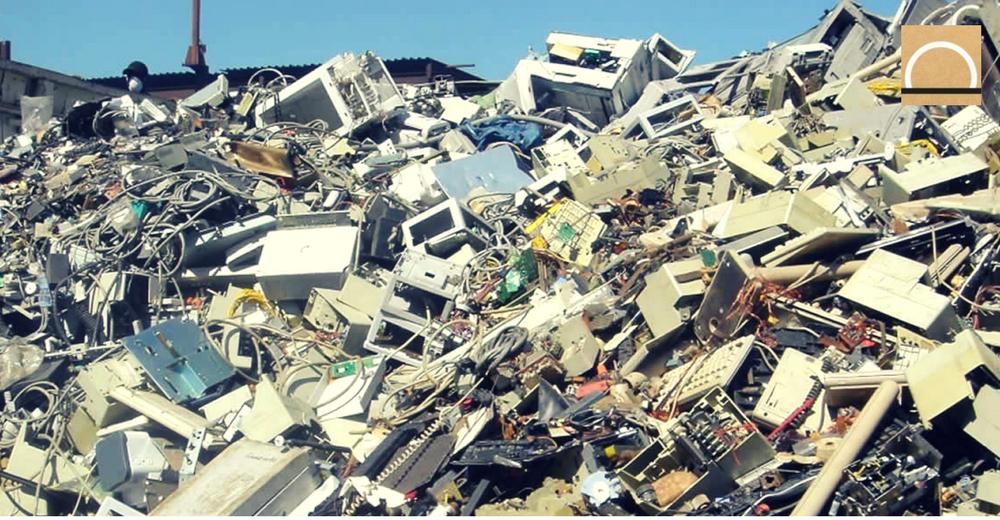 Cada español genera una media de 20 kilos de residuos electrónicos al año