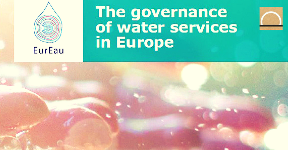 Se publicó un informe sobre los servicios europeos de agua