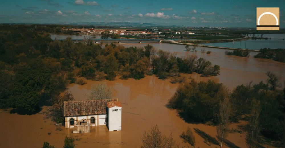 La crecida del Ebro será inferior que en 2015