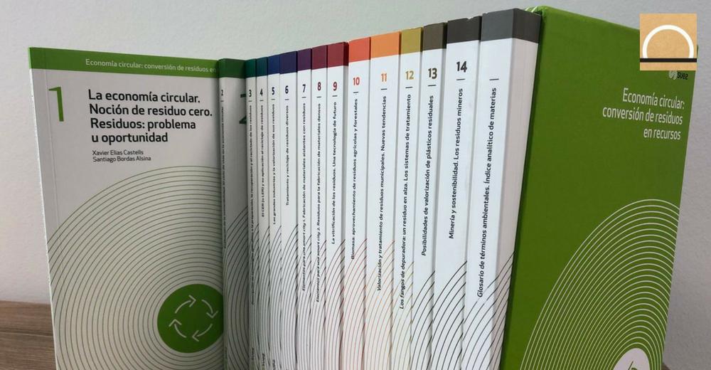Suez edita una colección de libros sobre economía circular y reciclaje de residuos