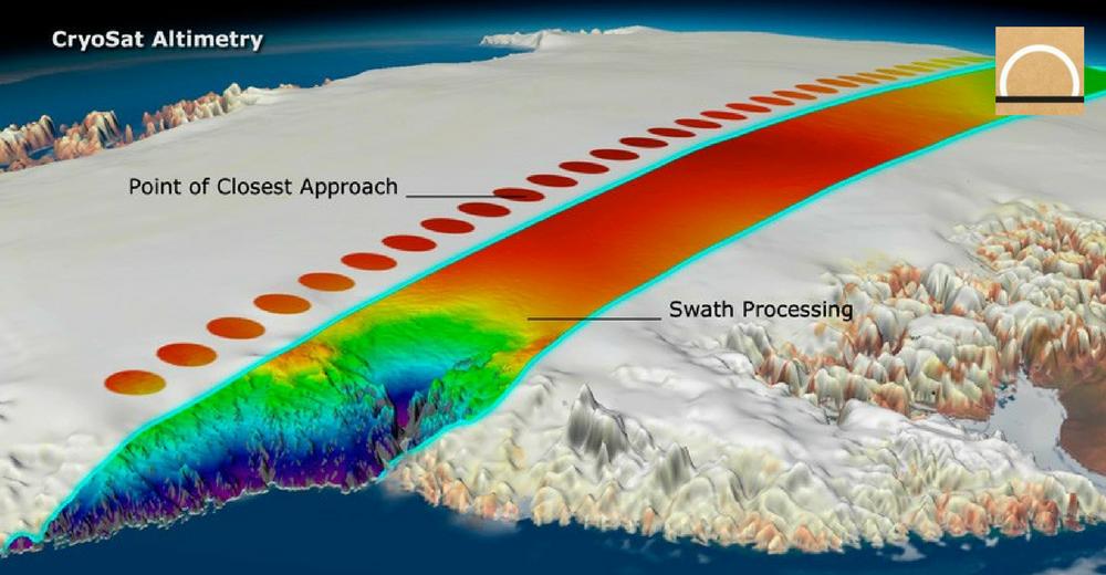 El deshielo de los glaciares de la Patagonia mostrados por el satélite CryoSat