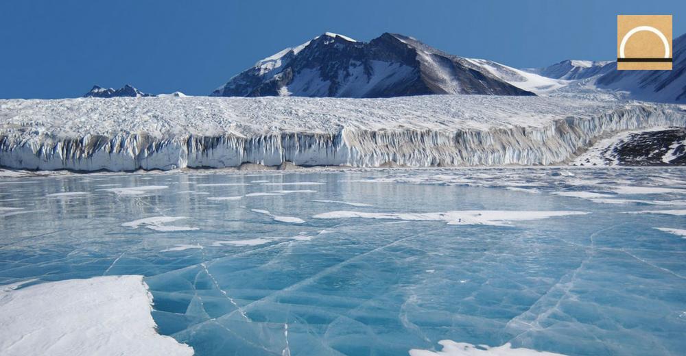 Descubren calor volcánico debajo del glaciar más grande de la Antártida