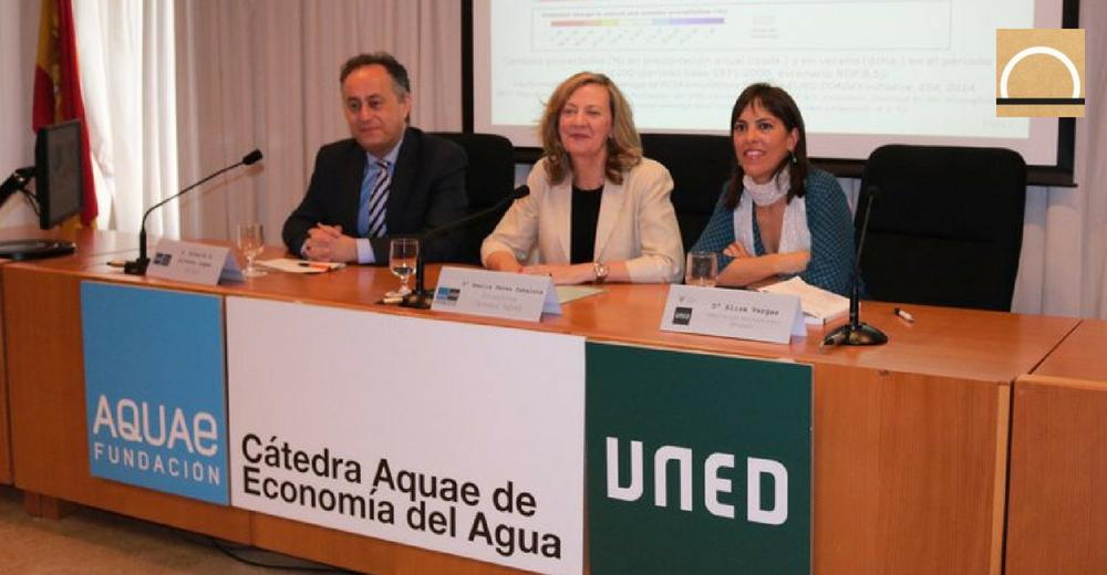 La Cátedra Aquae convoca a participar en los Premios de Investigación en Economía del Agua