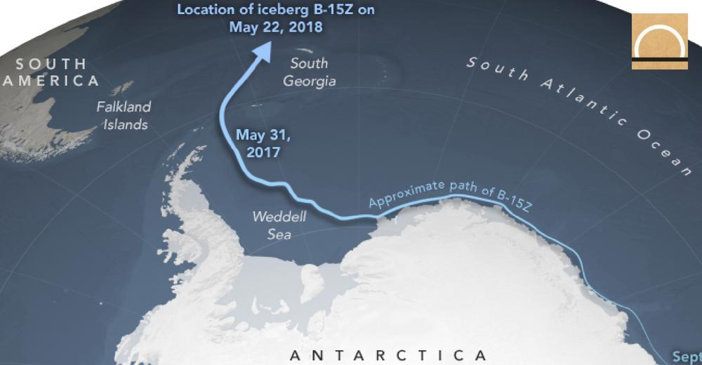 El mayor iceberg de la Antártida está a punto de desaparecer
