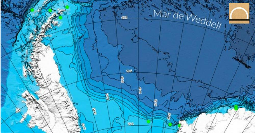 La contaminación ya alcanzó el fondo marino de la Antártida