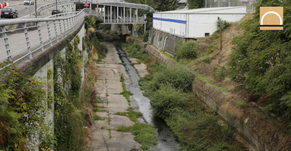 Contienen un vertido contaminante en Ourense