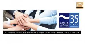 Aqua España eligió a los coordinadores de sus comisiones sectoriales