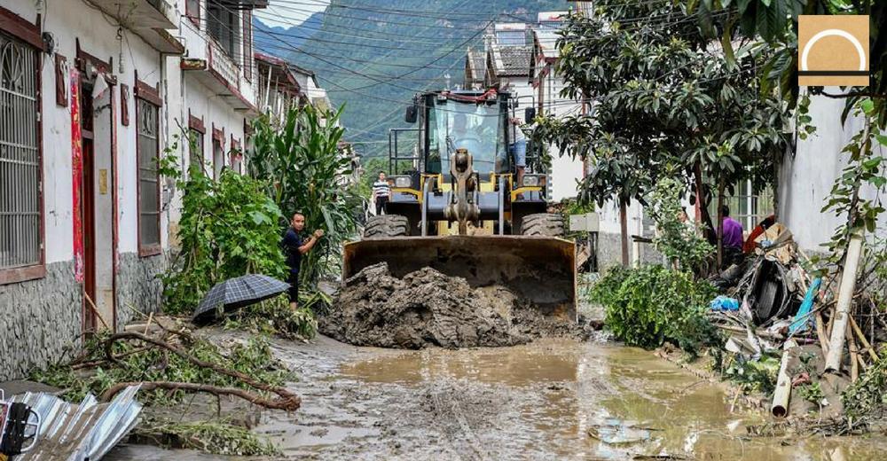 Dos millones de afectados por las inundaciones en China