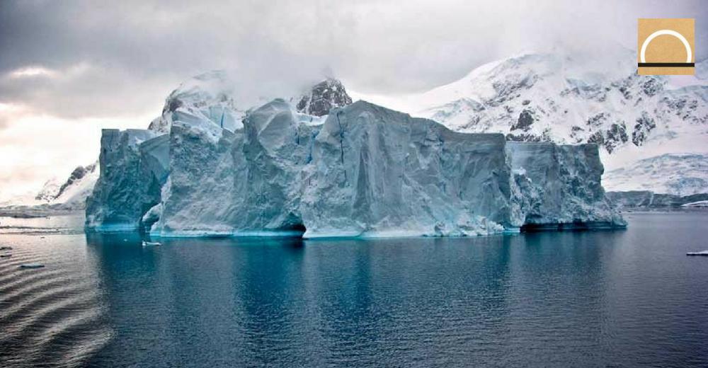 El Iceberg A-68 sigue atascado en el mar de Weddell