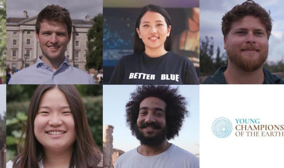 Estos son los líderes del futuro en la defensa del medioambiente