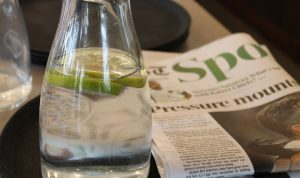 Campaña para consumir agua del grifo en bares y restaurantes
