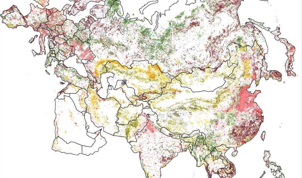 Nuevo mapa mundial que revela la explotación de los recursos finitos de la Tierra