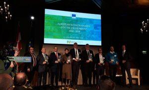 Suez España reconocida con un galardón europeo por su política de medioambiental
