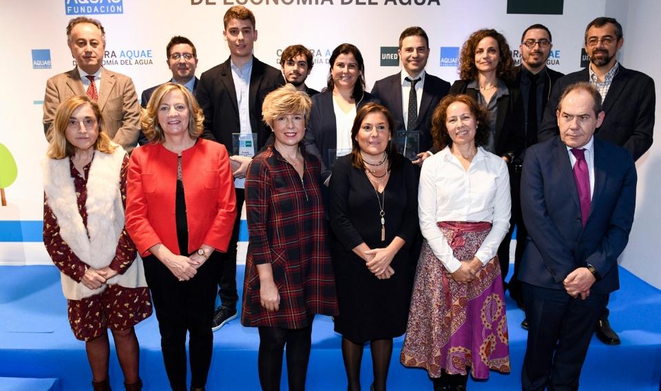 La Cátedra Aquae de Economía del Agua entrega sus premios