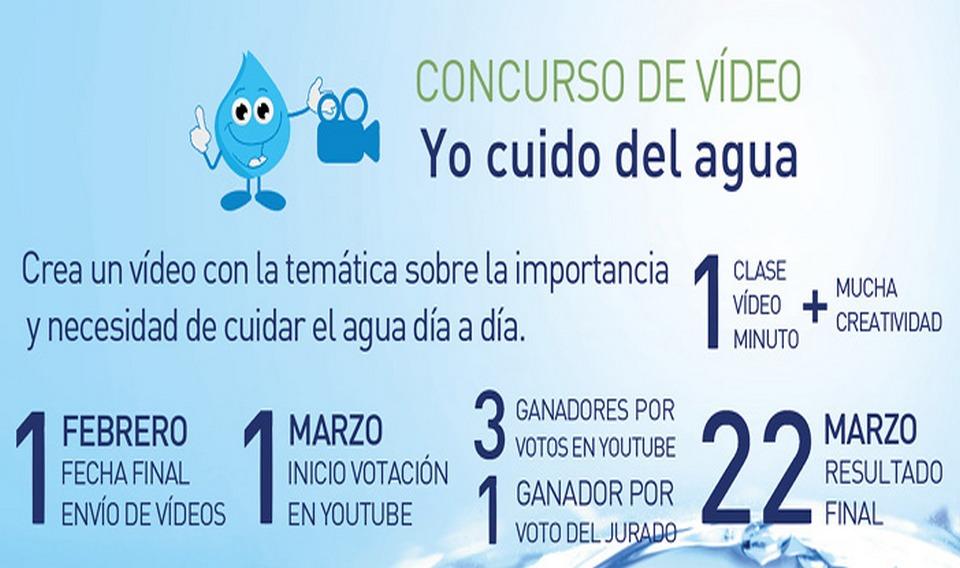Concurso para sensibilizar a los escolares sobre el cuidado del agua