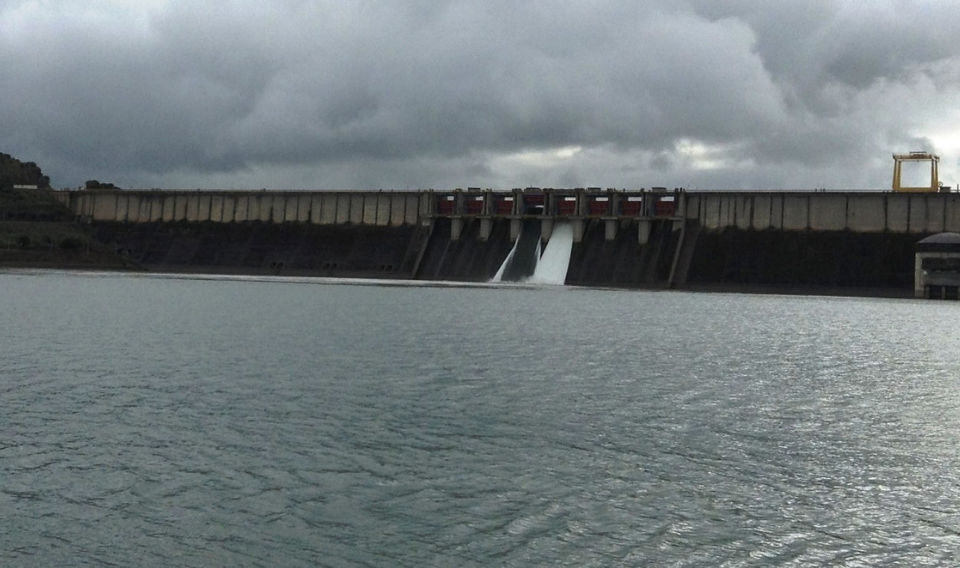 Los embalses guardan un 30% más de agua que hace un año