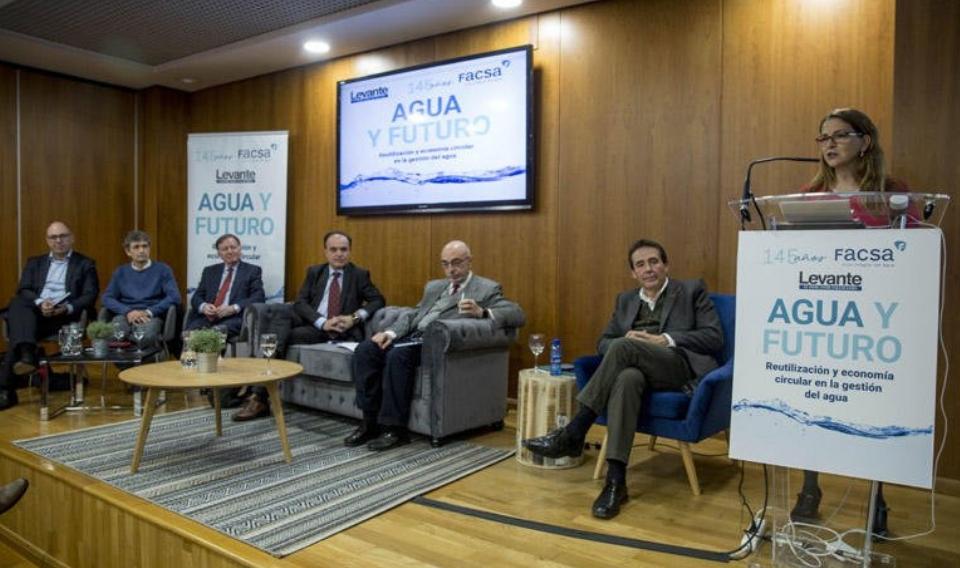 El sector del agua urbana avanza hacia un sistema de economía circular