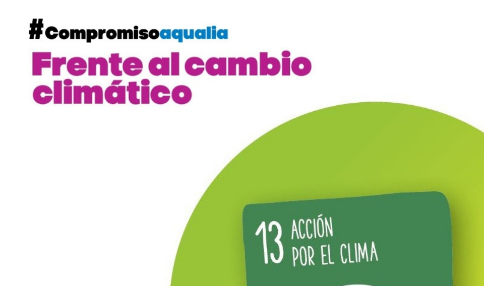 Aqualia reduce en un 15% sus emisiones totales de CO2