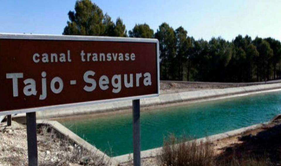 El Gobierno amplía el trasvase Tajo-Segura en el mes de diciembre