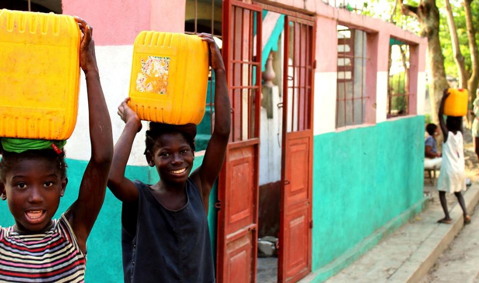 La cooperación española mejora los servicios de agua potable y saneamiento en Haití