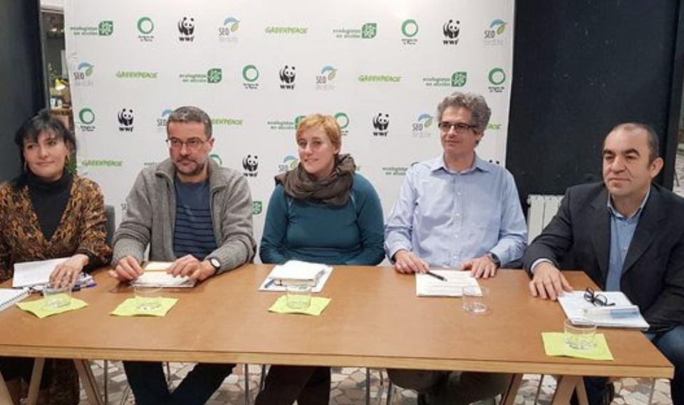 Las organizaciones ecologistas se unen para proponer una nueva fiscalidad ambiental