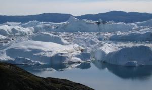 El deshielo avanza en Groenlandia a pesar del crecimiento del glaciar Jakobshavn