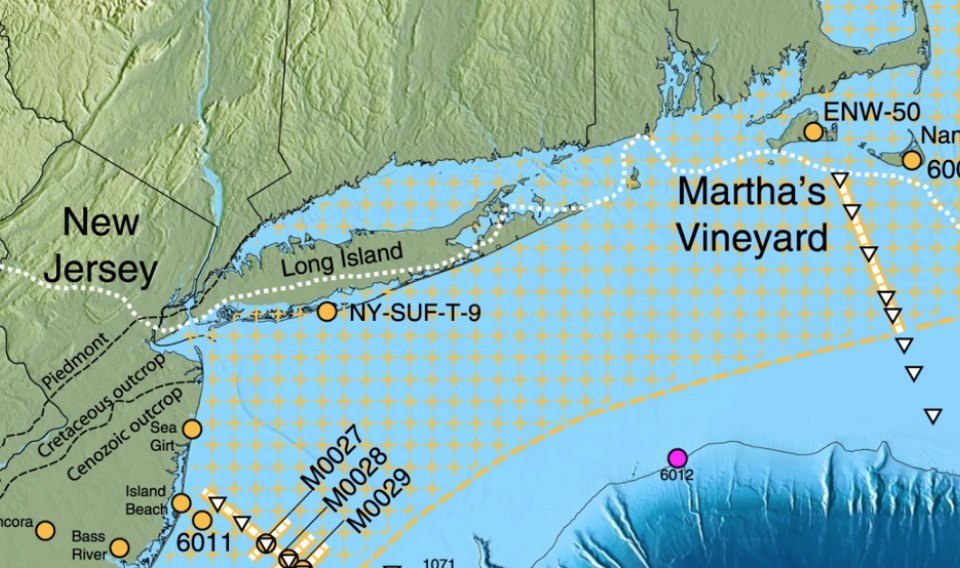 Descubierto un gigantesco acuífero en la costa atlántica de Estados Unidos