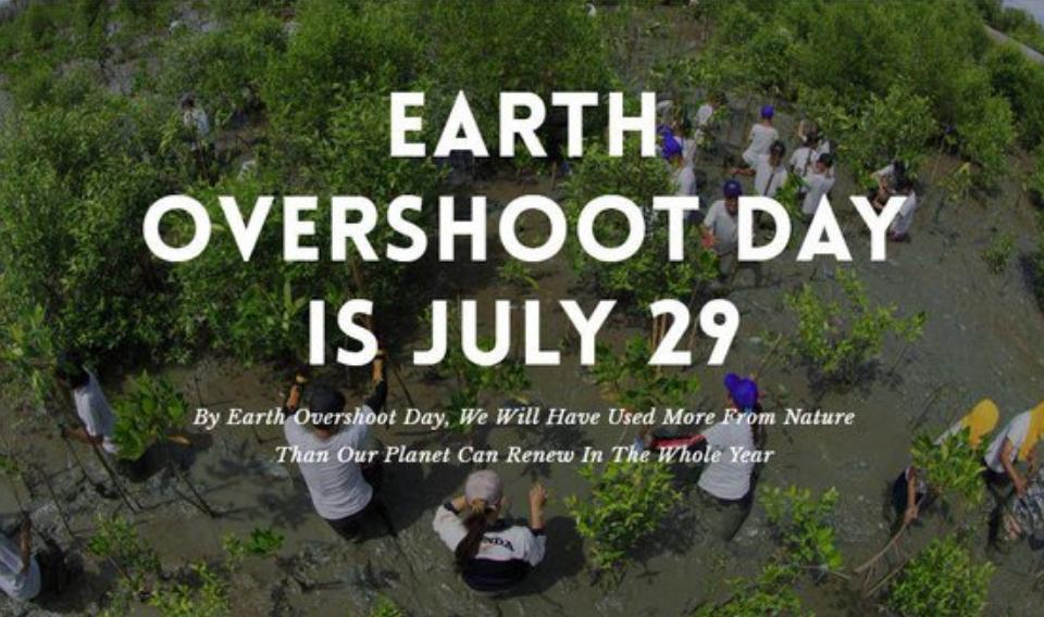 29 de julio: Día del Sobregiro de la Tierra