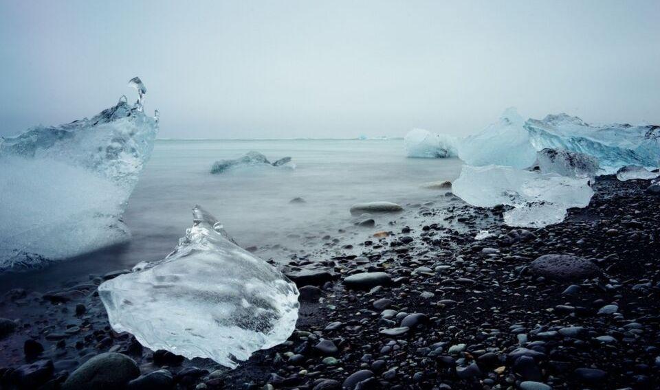 El Ártico registra su segundo  mínimo de hielo