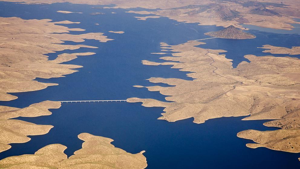 La reserva de agua cae al 45,9 por ciento de su capacidad