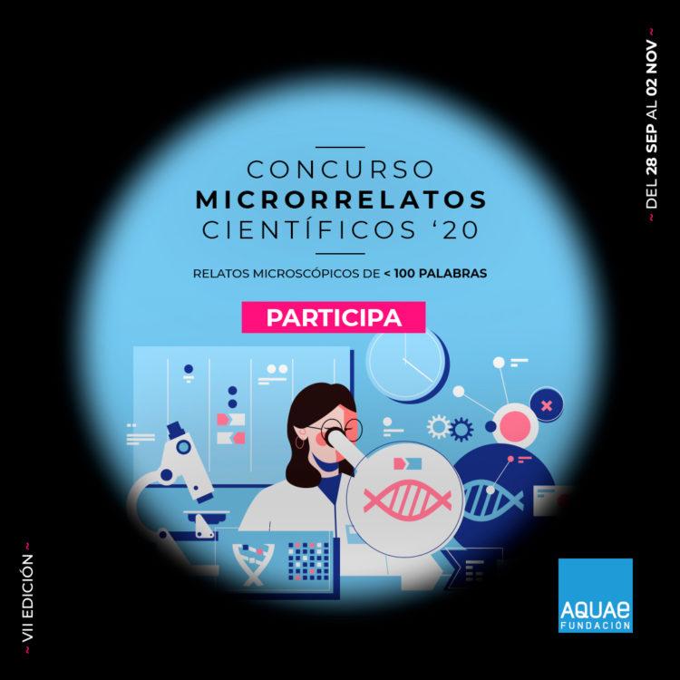 En marcha el 7º Concurso de Microrrelatos Científicos de la Fundación Aquae