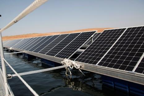 Las plantas fotovoltaicas flotantes, una realidad